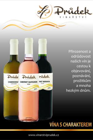 víno Vinařství Průdek